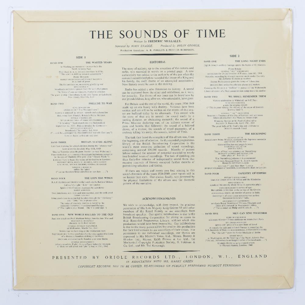 The Sounds of Time 1934 – 1949 – Historical Records